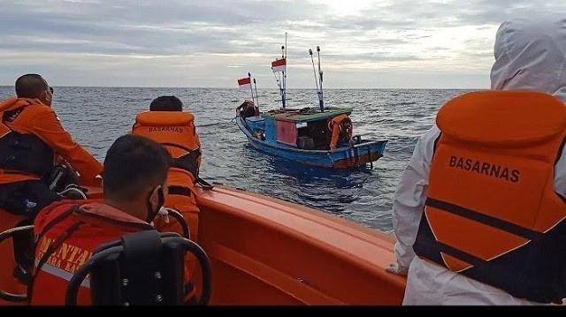 Kapal Nelayan Mati Mesin, Berhasil Ditemukan Tim SAR Gabungan