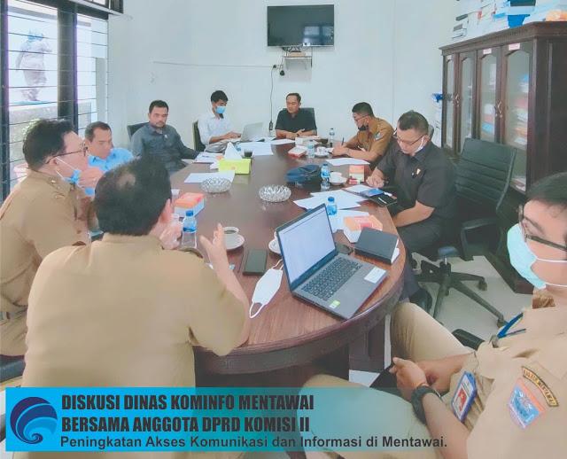 DPRD Mentawai Ajak Diskusi Dinas Kominfo Terkait Peningkatan Akses Komunikasi di Bumi Sikerei